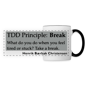 TDD Principle: Break - Panoramic Mug