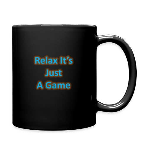 Black Relax Mug - Full Colour Mug
