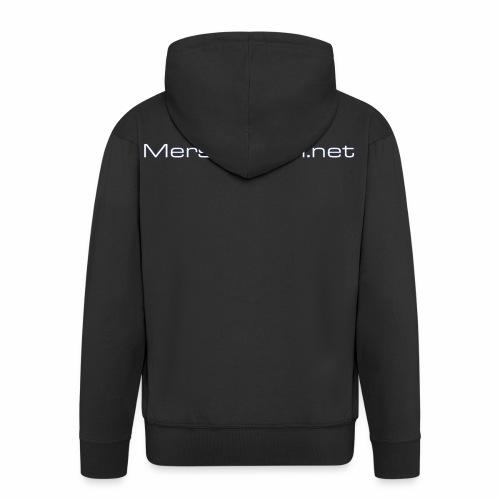 Mersuforum.net -Classic vetoketjuhuppari - Miesten premium vetoketjullinen huppari