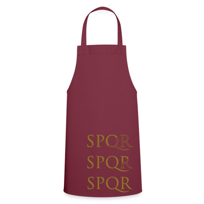 Delantal de cocina SPQR