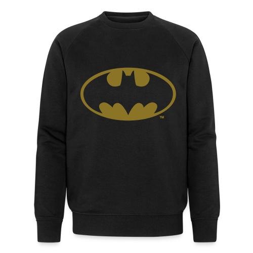 DC Comics Batman Logo in gold-metallic Optik - Männer Bio-Sweatshirt von Stanley & Stella
