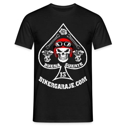 Camiseta Buena Suerte/Good Lucky for bikers - Camiseta hombre