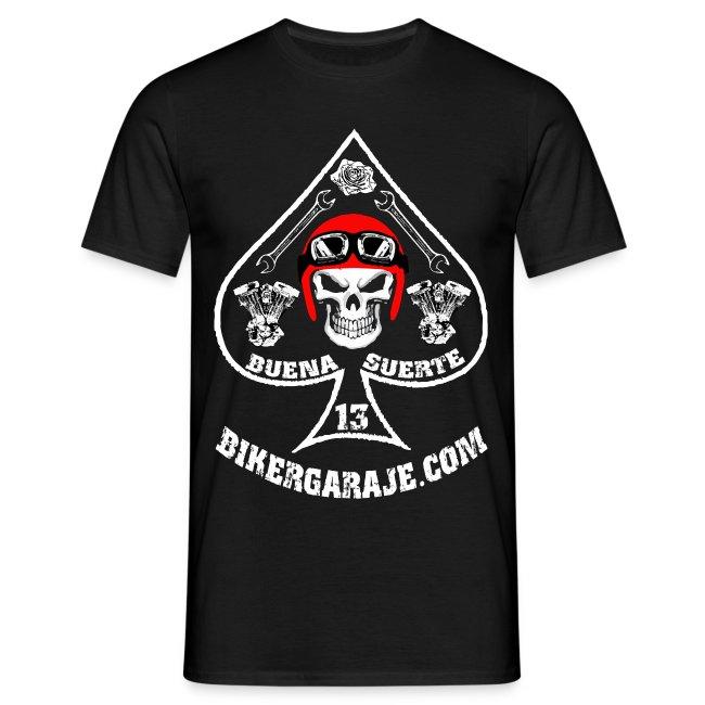 Camiseta Buena Suerte/Good Lucky for bikers