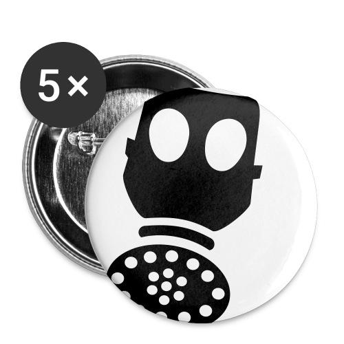 Helium- svart - Middels pin 32 mm (5-er pakke)
