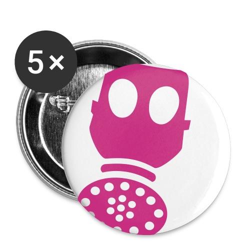 Helium- rosa - Middels pin 32 mm (5-er pakke)