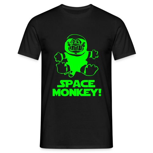 Space Monkey - Herre-T-shirt