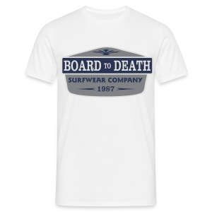 Board To Death Big Logo - Men's T-Shirt