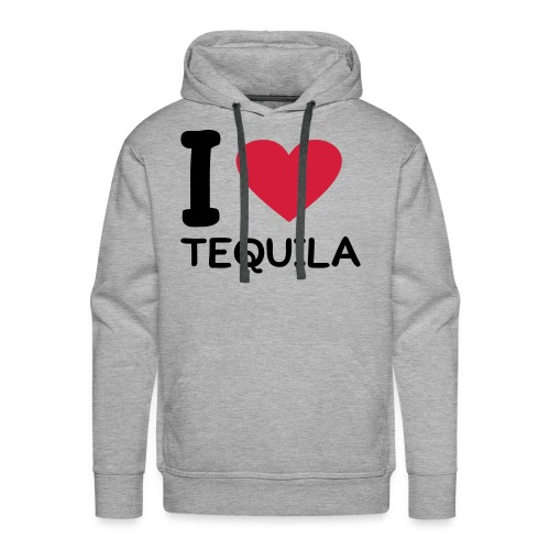 I love Tequila - Herre Premium hættetrøje