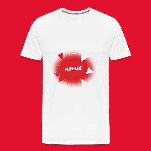 T shirt RAVAGE soirées officiel - T-shirt Premium Homme