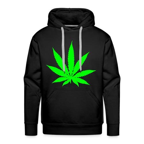 Weed - Herre Premium hættetrøje