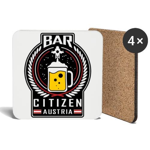 Bar Citizen Austria Untersetzer - Untersetzer (4er-Set)