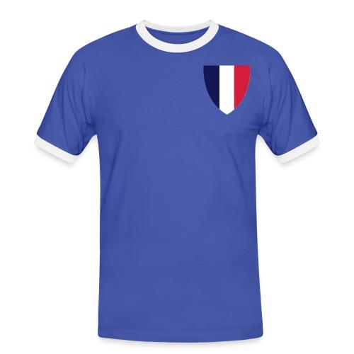T-shirt Homme France - T-shirt contrasté Homme