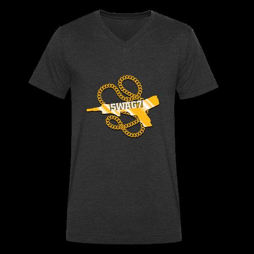 V-NECK 100% COTTON - Men's Organic V-Neck T-Shirt by Stanley & Stella