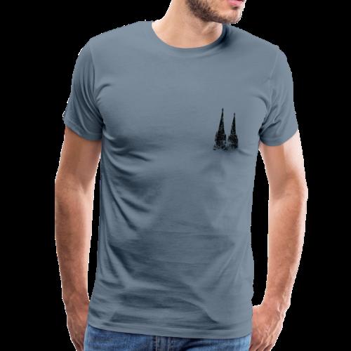 Kölner Dom (Vintage) Köln T-Shirt - Männer Premium T-Shirt