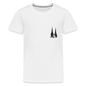 Kölner Dom (Vintage) Köln Teenager T-Shirt - Teenager Premium T-Shirt