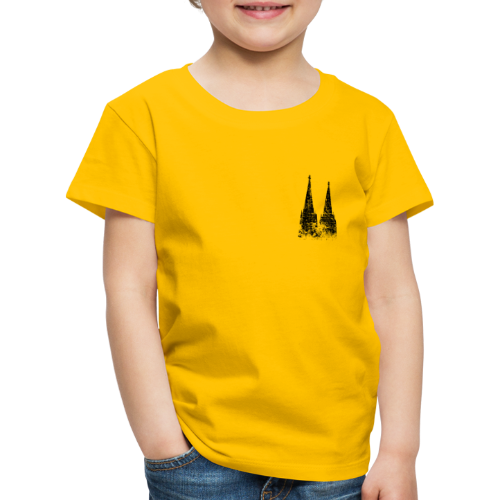 Kölner Dom (Vintage) Köln Kinder T-Shirt - Kinder Premium T-Shirt