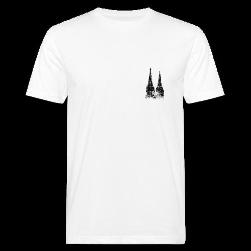Kölner Dom (Vintage) Köln Bio T-Shirt - Männer Bio-T-Shirt