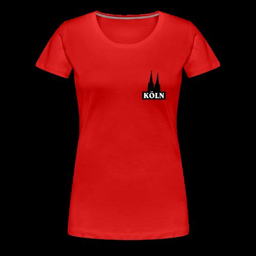 Köln Logo S-3XL T-Shirt - Frauen Premium T-Shirt