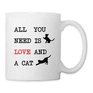 All you need is love and a cat mok - Mok