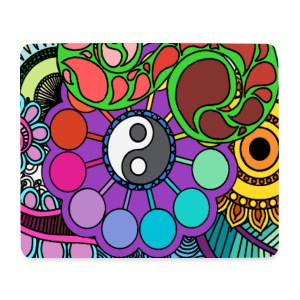 Colour Nature Mandala - Mouse Pad (horizontal)