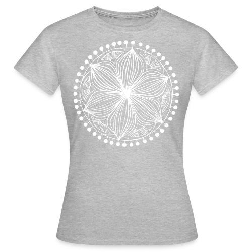 White Frankie Mandala - Women's T-Shirt