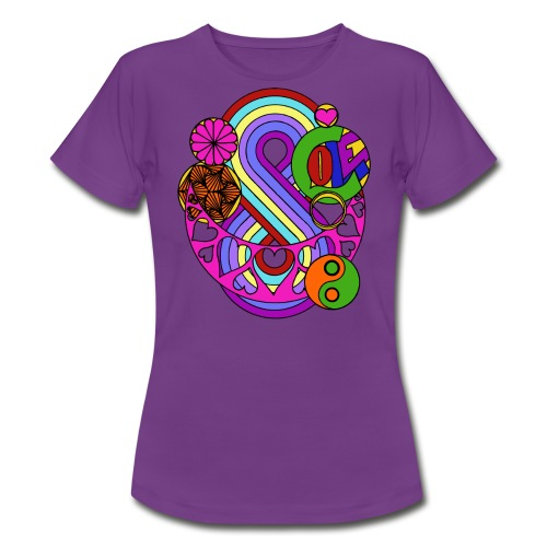 Colour Love Mandala - Women's T-Shirt