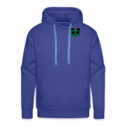 Green Panda (choix de la couleur) - Sweat-shirt à capuche Premium pour hommes