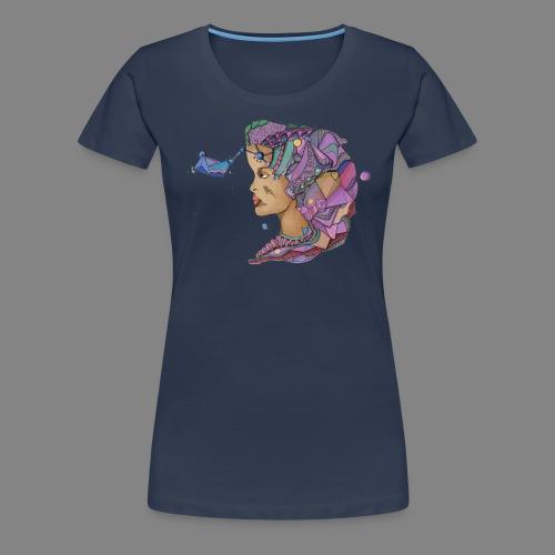 Frauen Premium T-Shirt - trippy,trip,tribe,tribal,spiritual,spirit,shaman,schamanismus,schamane,psychonaut,psychoaktiv,psychedelisch,psychedelika,psychedelic,pilze,magic mushrooms,lsd,hyperraum,hippie,esoterik,energie,drugs,drogen,ayahusca,art