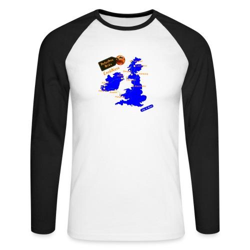 Loch Ness Matkapaita - Miesten pitkähihainen baseballpaita