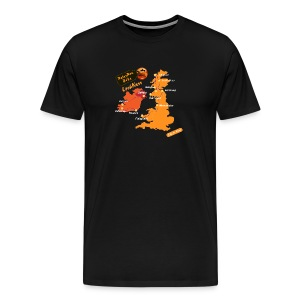 Loch Ness Matkapaita - Miesten premium t-paita