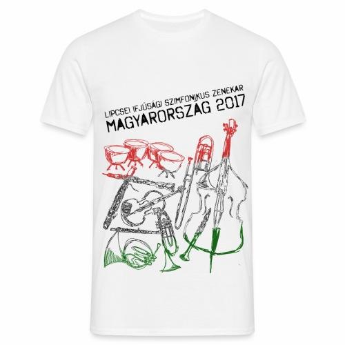 Ungarn Shirt Junge hell - Männer T-Shirt