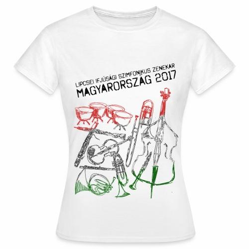 Ungarn Shirt Mädchen hell - Frauen T-Shirt