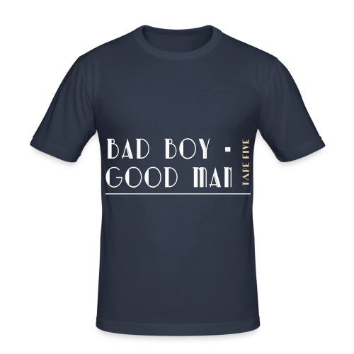 TAPE FIVE bad boy good man shirt, male - Men's Slim Fit T-Shirt