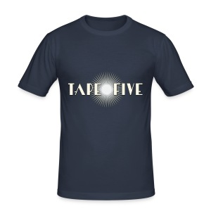 TAPE FIVE star branding, male - Men's Slim Fit T-Shirt