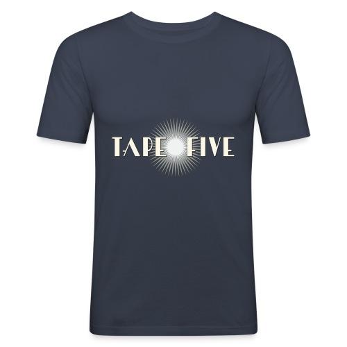 TAPE FIVE star branding, male - Men's Slim Fit T-Shirt