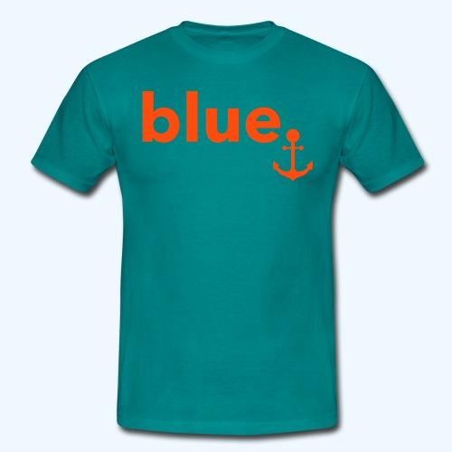 blue. - Männer T-Shirt - Männer T-Shirt