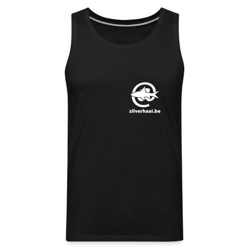Zilverhaai Muscle-shirt - Mannen Premium tank top
