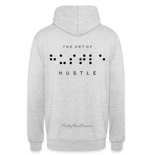 The Art of Hustle Pullover White - Unisex Hoodie
