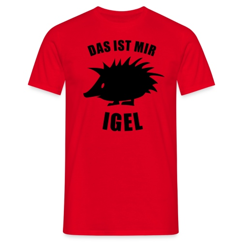Igel - Männer T-Shirt
