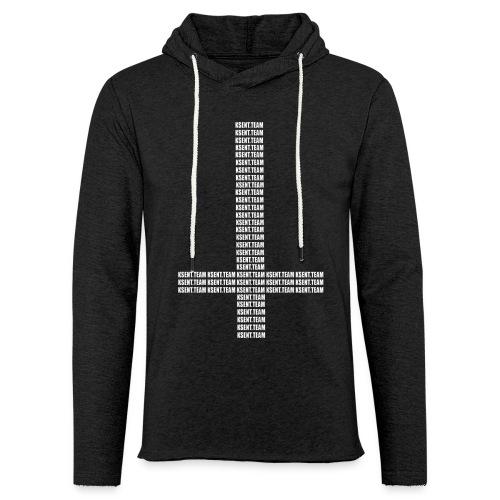Kreuz-ksent.team Hoodie  - Leichtes Kapuzensweatshirt Unisex