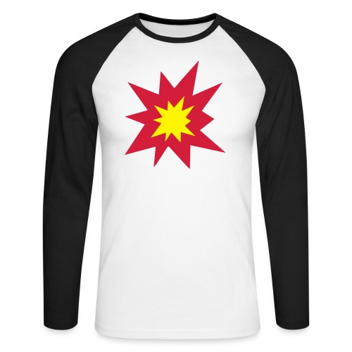 Boom Boom Shirt - Miesten pitkähihainen baseballpaita