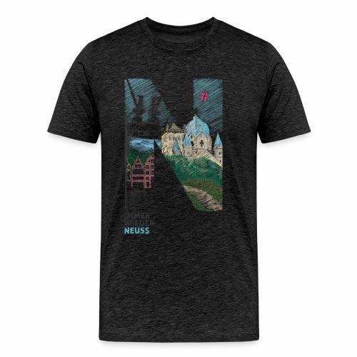 Immer wieder Neuss Männer T-shirt - Männer Premium T-Shirt