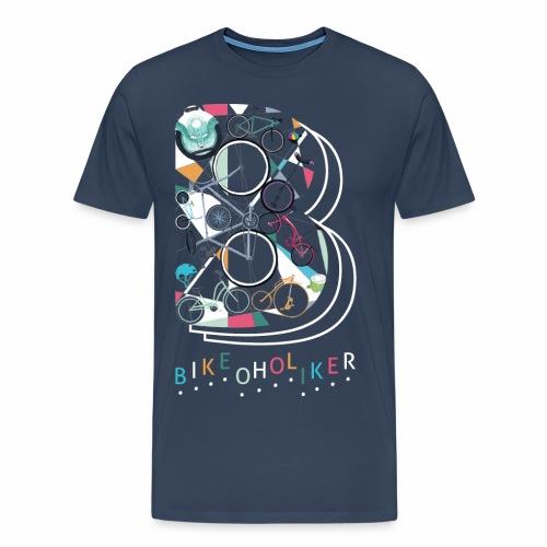 Bikeoholiker Männer T-shirt - Männer Premium T-Shirt