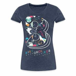 Bikeoholiker Frauen T-shirt - Frauen Premium T-Shirt