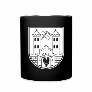 Suhl Wappen (weiß) - Full Colour Mug