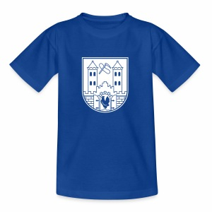 Suhl Wappen (weiß) - Teenage T-shirt