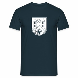 Suhl Wappen (weiß) - Men's T-Shirt