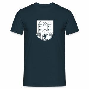 Suhl Wappen (weiß) - Männer T-Shirt