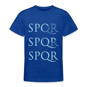 Camiseta niño clásica SPQR - Camiseta adolescente