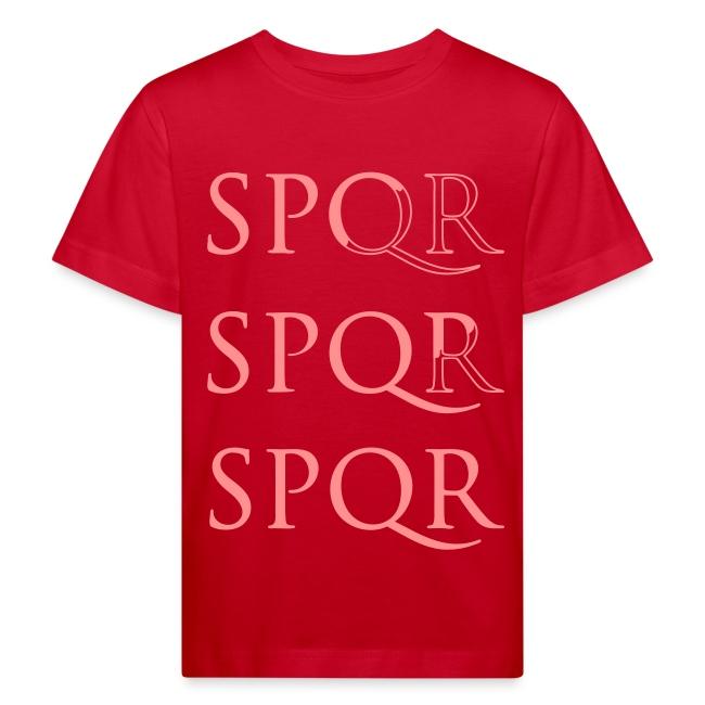 Camiseta niña clásica SPQR